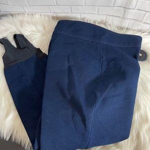 Schoeller VTG Navy Wool Blend Ski Pants Sz 10
